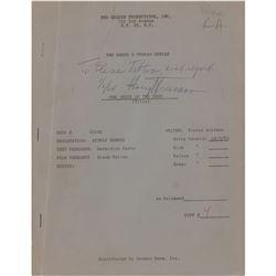Harry S. Truman Signed Script