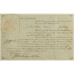 John Hancock Document Signed