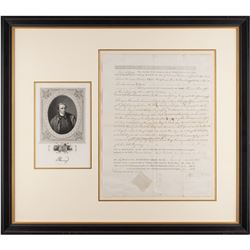 Patrick Henry Document Signed
