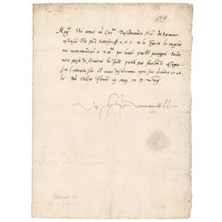 Pope Clement VII Letter Signed