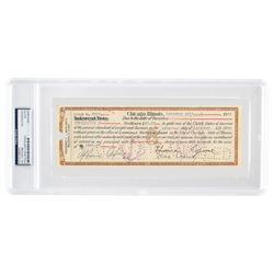 Al Capone Document Signed