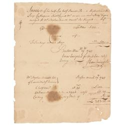 Colonial Boston Document Signed