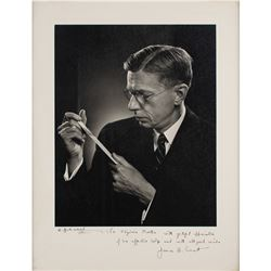 James B. Conant Signed Photograph