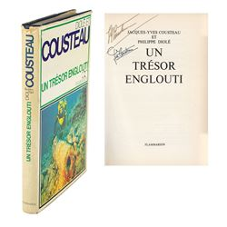 Jacques Cousteau Signed Book