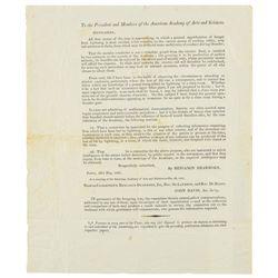 Benjamin Dearborn: Lightning Printed Letter