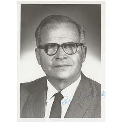 Peter Carl Goldmark Signed Photograph