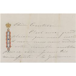 Grand Duchess Olga Autograph Letter Signed