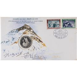 Edmund Hillary and Tenzing Norgay Signed Cover