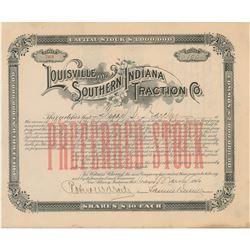 Samuel Insull Document Signed
