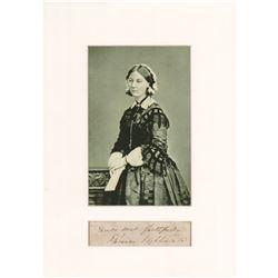 Florence Nightingale Signature