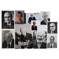 Nobel Prize in Physics (10) Signed Photographs