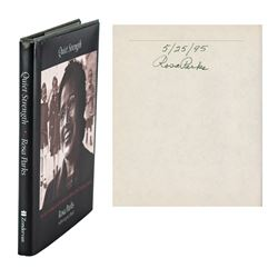 Rosa Parks Signed Book