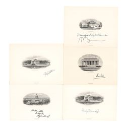 Supreme Court (5) Signed Engravings