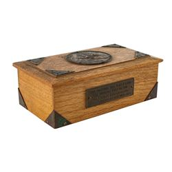 USS Constitution Wooden Box
