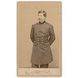 George B. McClellan Signed Photograph