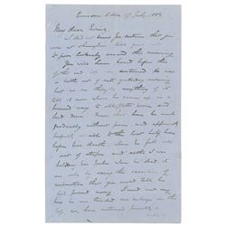 Charles 'Chinese' Gordon Autograph Letter Signed
