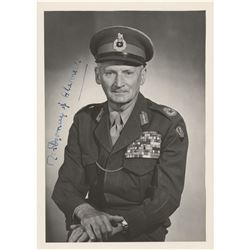 Montgomery of Alamein Signed Photograph