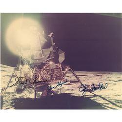Apollo 14 Signed Photograph
