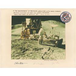 Apollo 15 (3) Signed Items