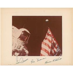 Apollo 17 Signed Photograph