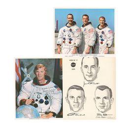 Apollo 9 (3) Signed Items