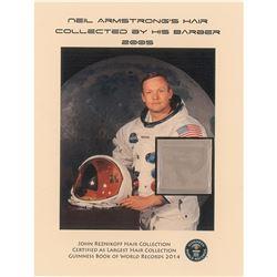 Neil Armstrong Hair Display