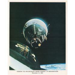 Frank Borman Signed Photograph