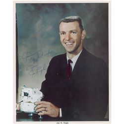 Joe Engle Signed Photograph