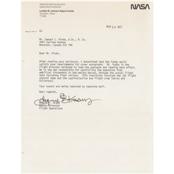 Gene Kranz and Don Puddy (2) Signed Items