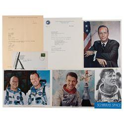 Mercury Astronauts (7) Signed Items