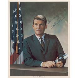 Wally Schirra Signed Photograph