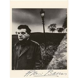 Francis Bacon Signed Postcard