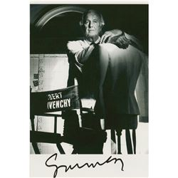 Hubert de Givenchy Signed Photograph