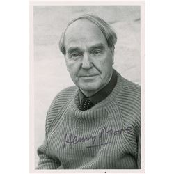 Henry Moore Signed Photograph