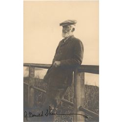 George Bernard Shaw Signed Photograph