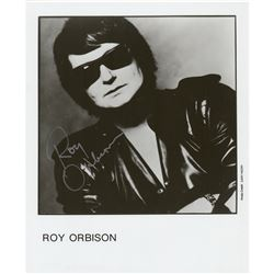 Roy Orbison Signed Photograph