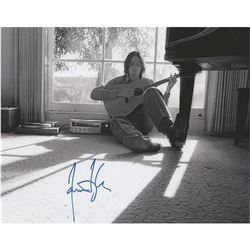 James Taylor Signed Photograph