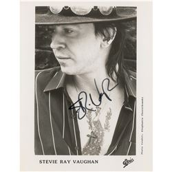 Stevie Ray Vaughan Signed Photograph