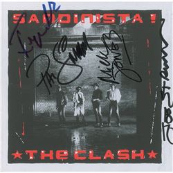 The Clash Signed CD Booklet