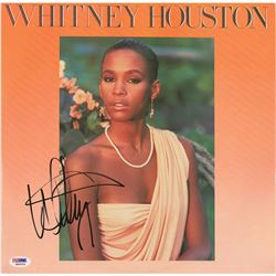 Whitney Houston Signed Album
