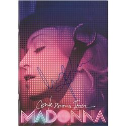 Madonna Signed Tour Book