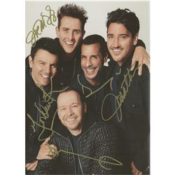 New Kids On The Block Signed Tour Book