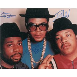 Run DMC Signed Photograph