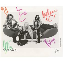 Spice Girls Signed Photograph