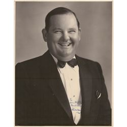 Oliver Hardy Signed Photograph