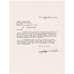 Apocalypse Now (3) Documents Signed