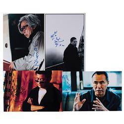Asian Film Directors (4) Signed Photographs