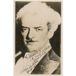 Harry Blackstone Signed Photograph