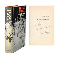 Frank Capra Signed Book