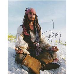 Johnny Depp Signed Photograph